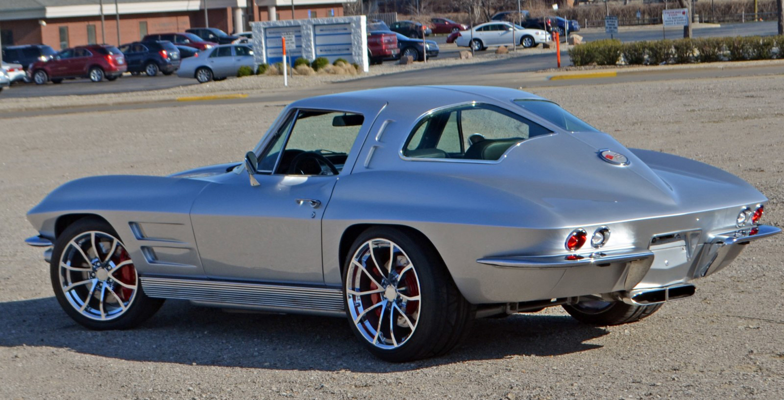 1963 chevrolet corvette pro touring split window coupe