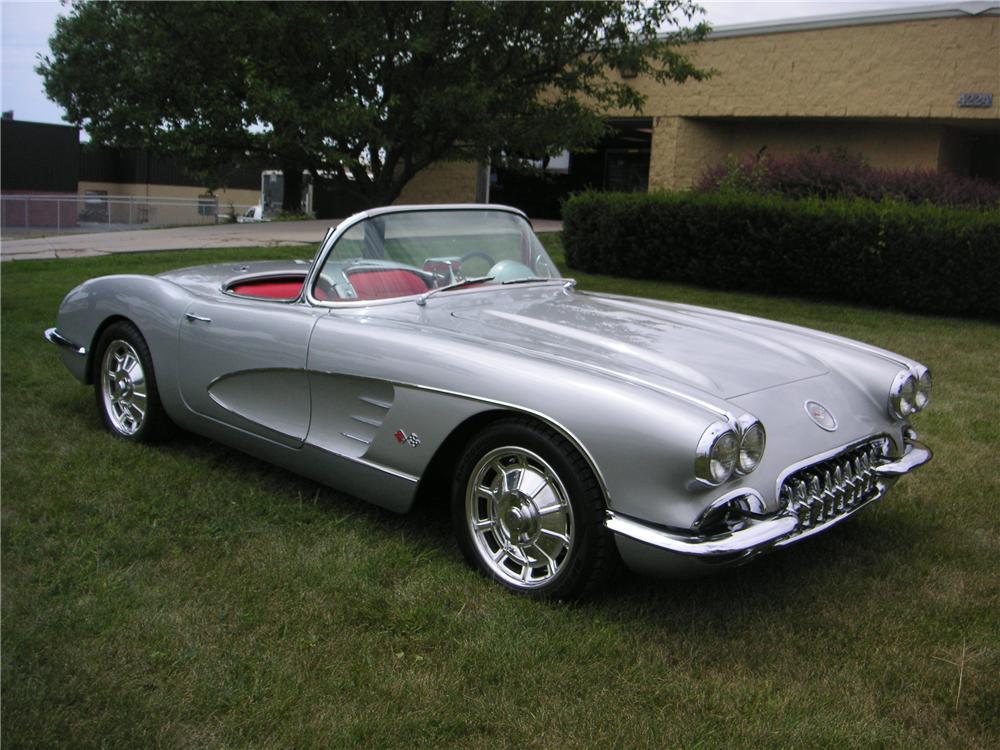 2014 Corvette For Sale >> 1960 Corvette Convertible at Barrett Jackson Vegas