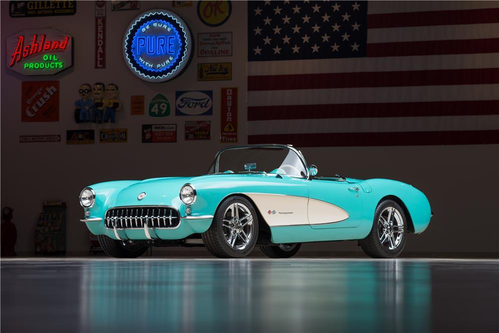 Stunning 1957 Chevy Corvette Restomod at Barrett Jackson ...