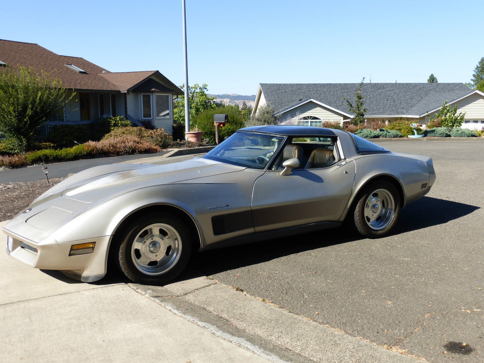 Good Base Car Lame Duck 1982 Corvette With Crossfire