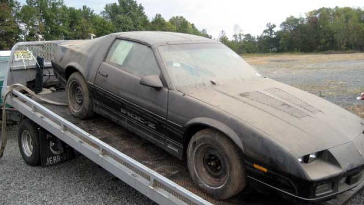 Classic Story Car Found In Trailer Still New Wrapped In