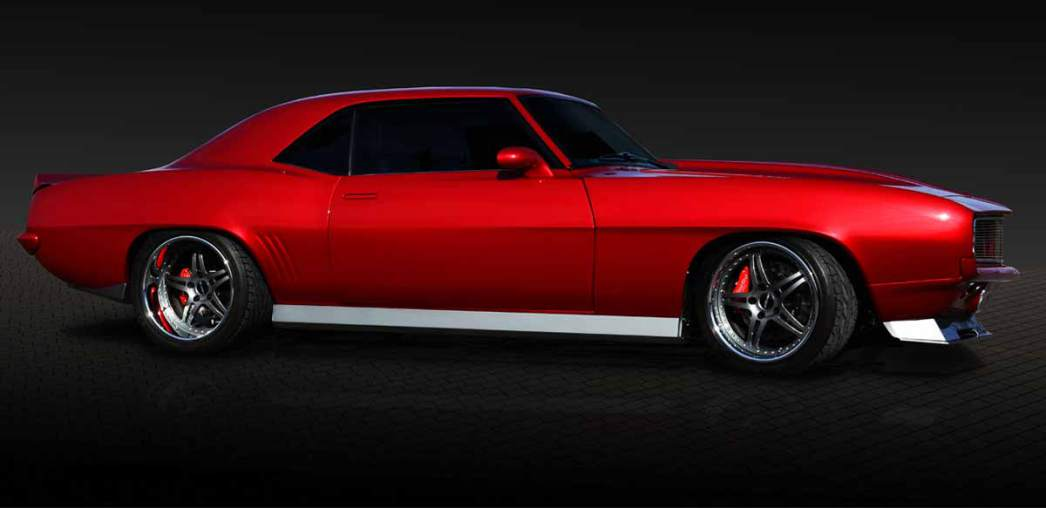 For Sale: Insane Mitchell Motorworks 1969 Camaro SS RS