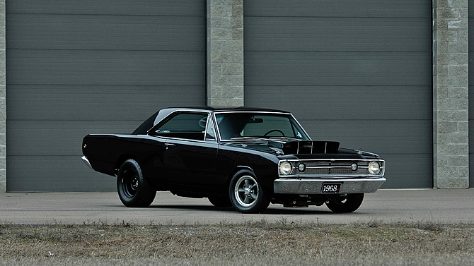 Beautiful 1968 Dodge Dart Restomod At Mecum Seattle