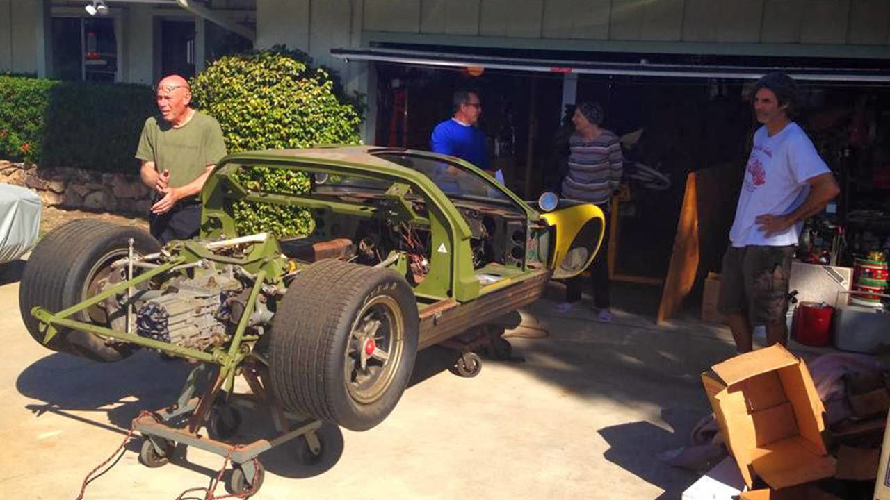 Revisiting the buried and forgotten ford gt40 for Garage finder