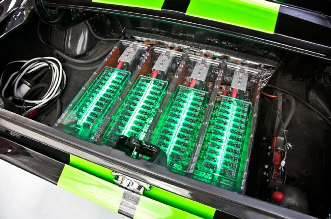 Electric Ford Mustang Fastback Batteries
