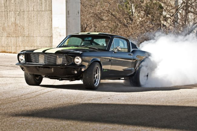 1968 Ford Mustang Goes Electric And Still Has 800 Hp