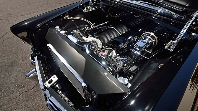 Killer 1956 Chevy Bel Air Resto With Ls3 430 Hp