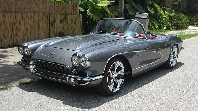 1961 Corvette For Sale >> Beautiful 1961 Chevrolet Corvette 6 Speed-556HP