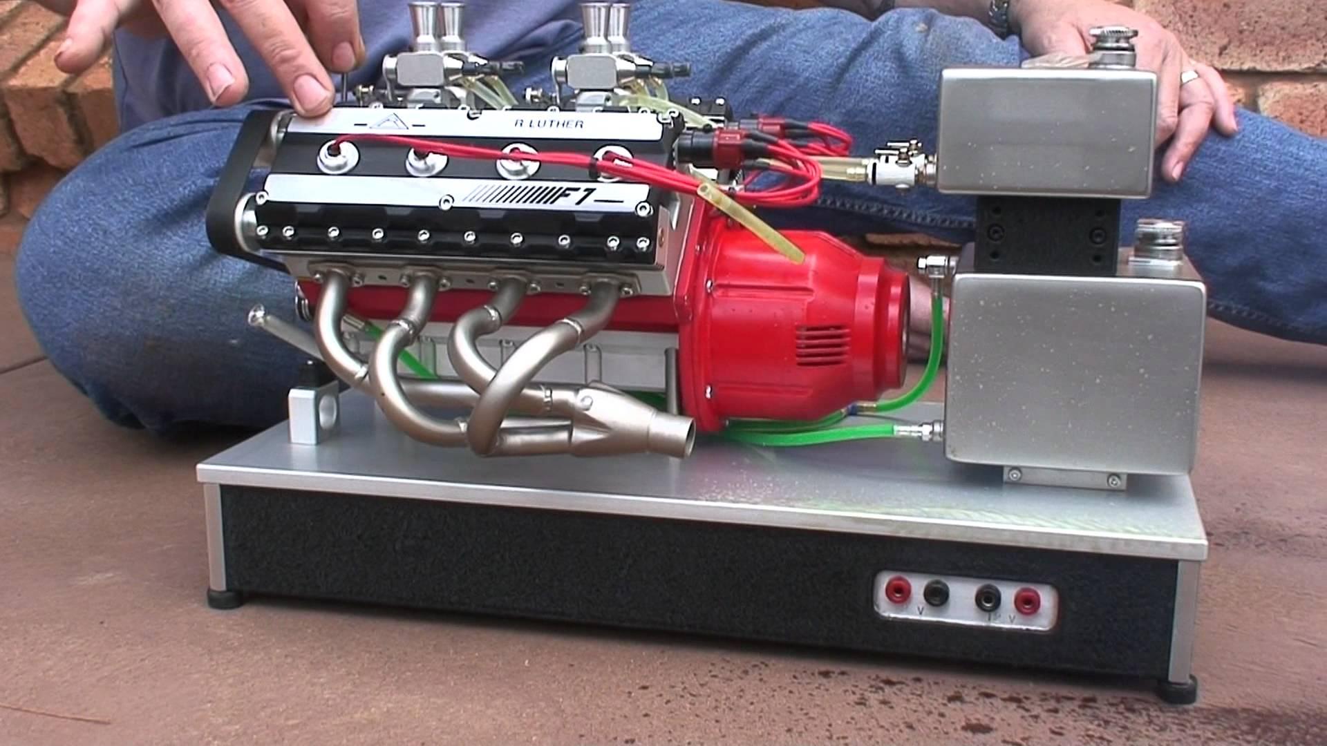 Incredible Handmade Miniature V8 With Nitro