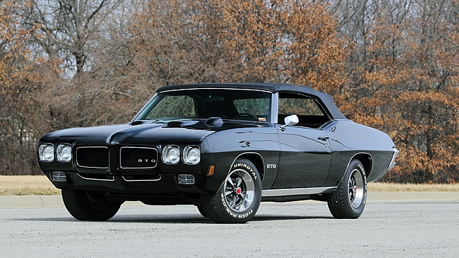 Sweet On The Street Amazing 1970 Pontiac Gto Convertible