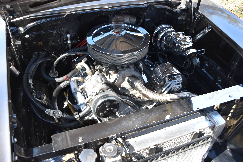 Readers Ride Skip Babins Sweet 57 Chevy Bel Air Under Hood Wiring Engine