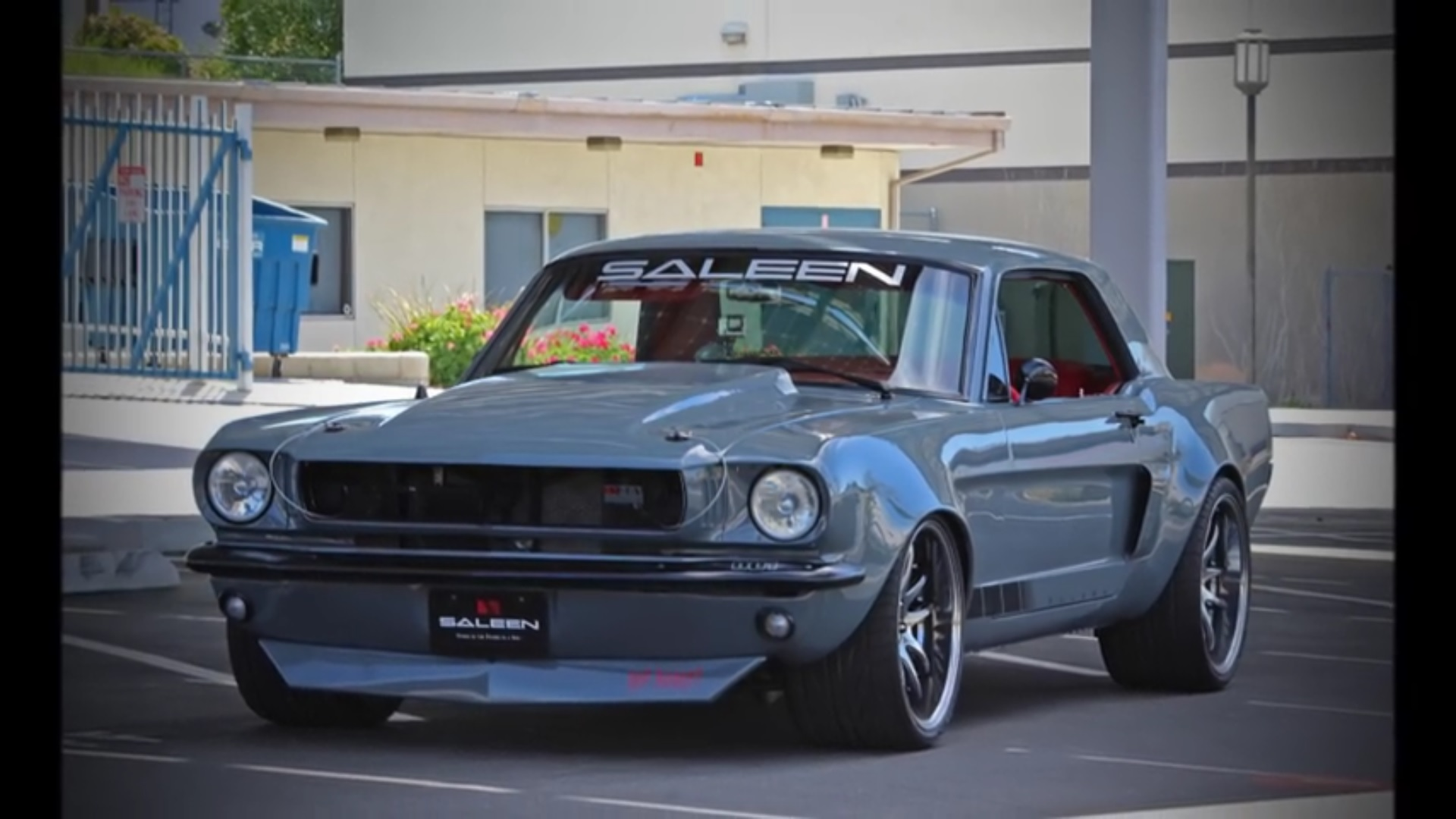 Check out this saleen powered 65 mustang