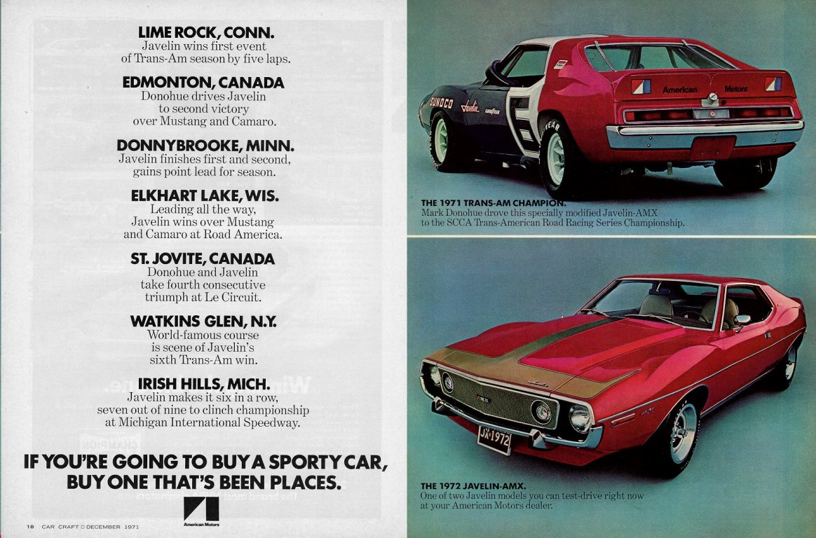 Murder, Money, And Muscle Cars: The Collapse Of AMC