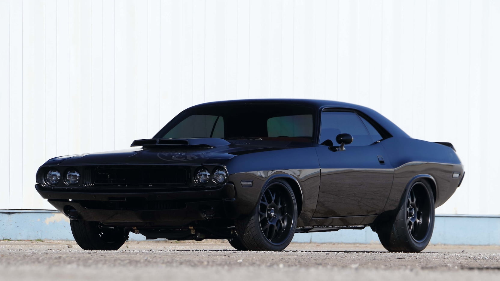 classic challenger looks meet hellcat engine in this amazing restomod. Black Bedroom Furniture Sets. Home Design Ideas