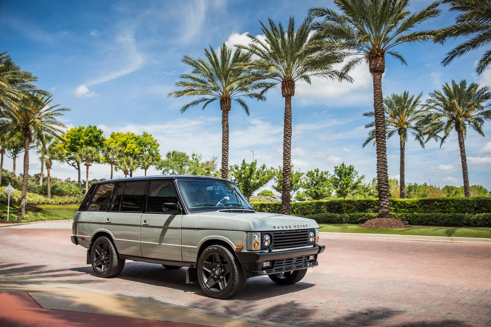 A Regal Raging Range Rover Restomod